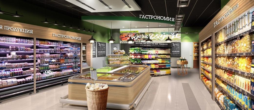 Проект супермаркета